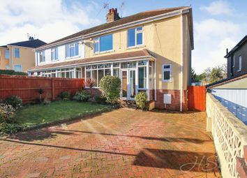 Thumbnail 4 bed semi-detached house for sale in Oak Park Avenue, Shiphay, Torquay