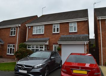 Thumbnail 4 bed detached house for sale in Darwin Close, Market Drayton