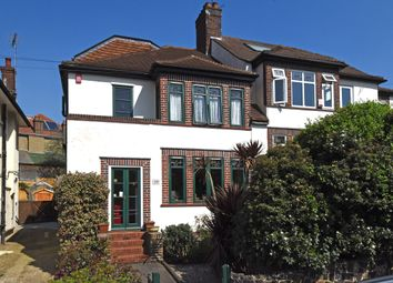 Thumbnail 4 bed semi-detached house for sale in The Hermitage, Westwood Park, London
