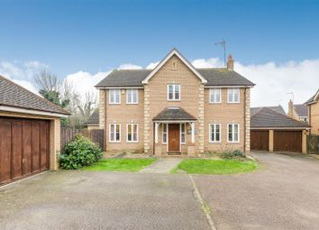 Thumbnail 5 bedroom detached house for sale in Cauldecott Close, Northampton