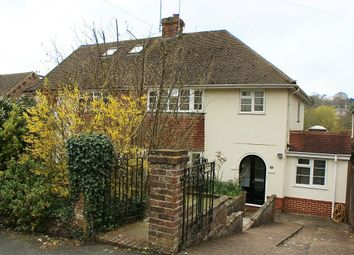 Thumbnail 3 bed semi-detached house to rent in Fitzjohns Road, Lewes