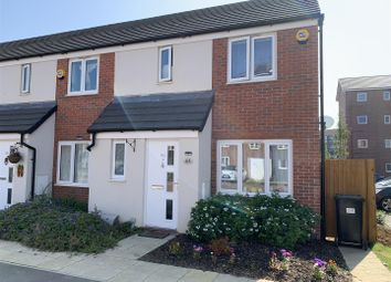 Thumbnail End terrace house for sale in Bagshawe Way, Dunstable