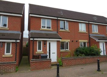 Thumbnail 3 bedroom semi-detached house for sale in Greenock Crescent, Wolverhampton