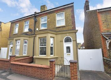 Thumbnail 4 bedroom semi-detached house for sale in Norfolk Road, Gravesend, Kent