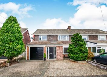 Thumbnail 4 bed semi-detached house for sale in Ridgely Drive, Ponteland, Northumberland, Ridgely Drive