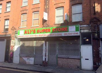 Thumbnail Retail premises to let in Fashion Street, London