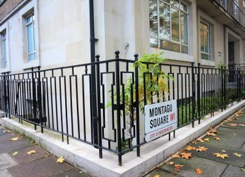 Thumbnail Serviced flat for sale in Montagu Square, London