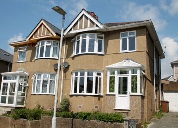 Thumbnail 3 bed semi-detached house for sale in St. Gabriels Avenue, Plymouth
