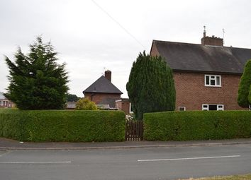 Thumbnail 3 bed end terrace house for sale in Clifford Road, Market Drayton
