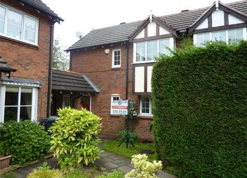 Thumbnail 2 bed end terrace house to rent in Sutton Close, Macclesfield, Cheshire