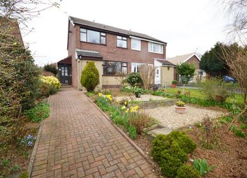 Thumbnail 2 bedroom semi-detached house for sale in Church Avenue, Meanwood, Leeds