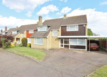 Thumbnail 4 bedroom detached house for sale in Mandeville Close, Broxbourne