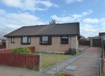 Thumbnail 2 bed semi-detached bungalow for sale in Springfield Drive, Elgin