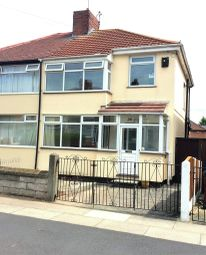 Thumbnail 3 bed semi-detached house for sale in Corwen Crescent, Huyton, Liverpool