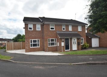 Thumbnail 3 bed semi-detached house for sale in Grosvenor Close, Droitwich