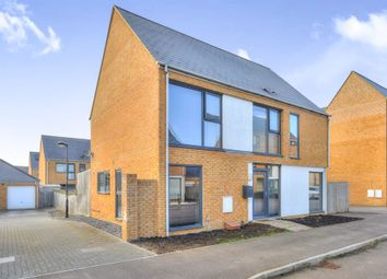 Thumbnail 4 bed detached house for sale in Loughborough Drive, Broughton, Milton Keynes