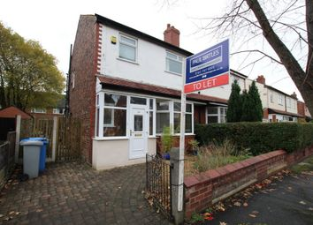 Thumbnail 3 bed semi-detached house to rent in Hampson Road, Stretford