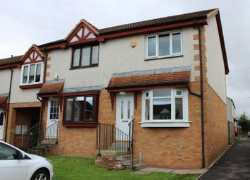 Thumbnail 2 bedroom terraced house to rent in Culross Way, Moodiesburn, North Lanarkshire