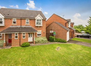Thumbnail 3 bed semi-detached house for sale in Bourne Way, Swadlincote