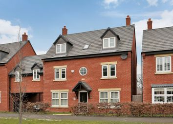 Thumbnail 5 bed detached house for sale in Saxon Drive, Rothley