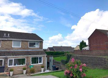 Thumbnail 3 bed semi-detached house for sale in Mackworth Drive, Cimla, Neath, Neath Port Talbot.