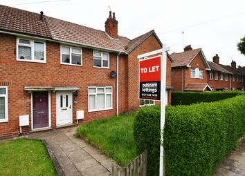 Thumbnail 2 bed terraced house to rent in Alwold Road, Weoley Castle, Birmingham