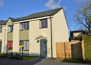 Thumbnail 4 bed semi-detached house for sale in Harlyn Drive, Plymouth, Devon