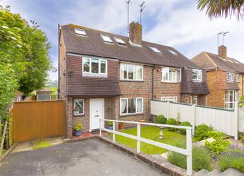 Thumbnail 4 bedroom semi-detached house for sale in Hangleton Way, Hove