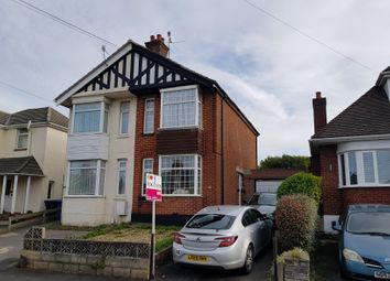 Thumbnail 2 bed semi-detached house for sale in Wimborne Road, Poole, Dorset