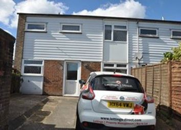 Thumbnail 3 bed end terrace house to rent in Brading Close, Bassett Green, Southampton