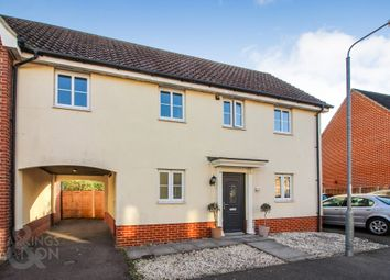 3 bed link-detached house for sale in Field Acre Way, Long Stratton, Norwich NR15