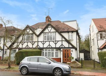 Thumbnail 4 bed semi-detached house for sale in Broughton Avenue, Finchley N3,