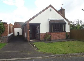 Thumbnail 2 bedroom bungalow for sale in St. Johns Close, Hugglescote, Coalville, Leicestershire