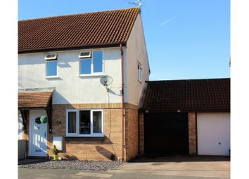 Thumbnail 3 bed semi-detached house for sale in Ormonds Close, Bradley Stoke