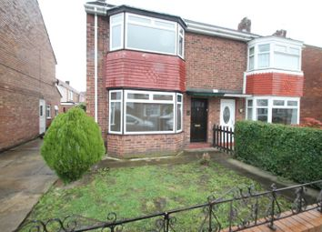 Thumbnail 3 bed semi-detached house to rent in Haswell Avenue, Hartlepool