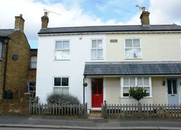 Thumbnail 3 bed semi-detached house to rent in Lily Cottages, Queens Road, Hersham, Walton-On-Thames, Surrey