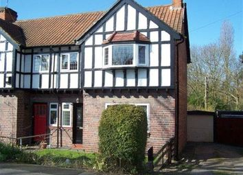 Thumbnail 3 bedroom semi-detached house to rent in Sarehole Road, Hall Green, Birmingham
