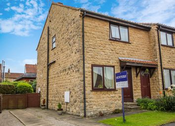 Thumbnail 2 bed semi-detached house for sale in Manor Road, Tadcaster
