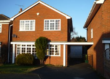 Thumbnail 4 bedroom detached house to rent in Saplings Close, Penkridge, Staffs
