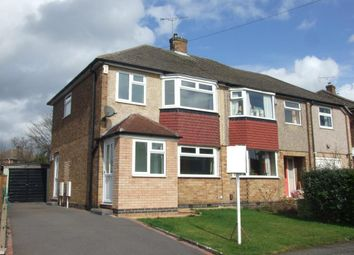 Thumbnail 3 bed semi-detached house for sale in Burnside Drive, Spondon, Derby