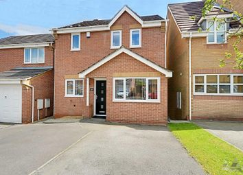 Thumbnail 3 bed detached house for sale in Worcester Close, Clay Cross, Chesterfield, Derbyshire