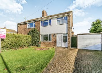 Thumbnail 3 bed semi-detached house for sale in Compton Way, Earls Barton, Northampton