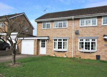 Thumbnail 3 bed semi-detached house for sale in Wessex Way, Highworth, Swindon