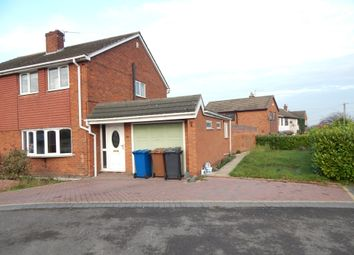 Thumbnail 3 bed semi-detached house for sale in Boney Hay Road, Burntwood