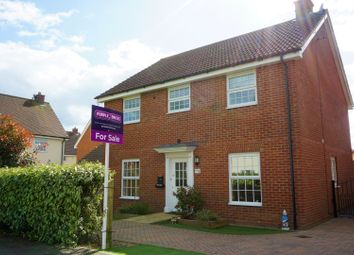Thumbnail 4 bed detached house for sale in Warwick Road, Dunmow