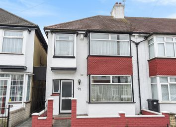 Thumbnail 3 bed end terrace house for sale in Alderton Road, Addiscombe, Croydon
