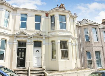 Thumbnail 4 bed terraced house for sale in Lipson Avenue, Plymouth, Devon