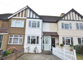 Thumbnail 2 bed terraced house for sale in Church Lane, Chessington, Surrey.
