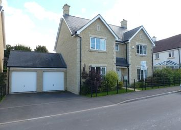 Thumbnail 4 bed detached house to rent in Sherbourne Drive, Old Sarum, Salisbury