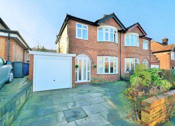 Thumbnail 3 bedroom semi-detached house for sale in Stetchworth Road, Stockton Heath, Warrington